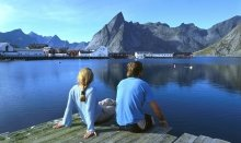 Norway is famous for the magnificent fjords and wild nature