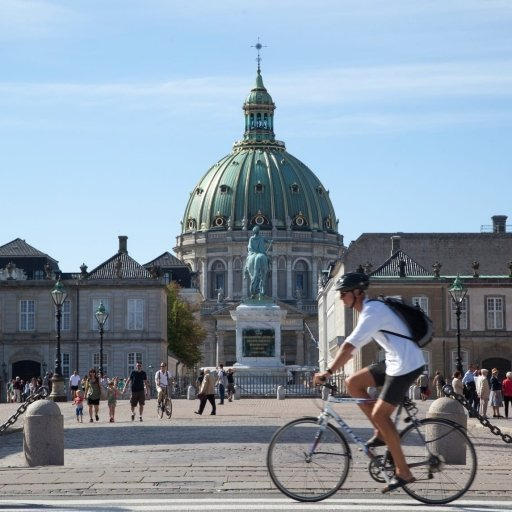Biking in Denmark