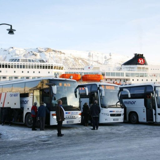 Buses to Norway
