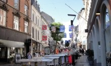 Aarhus is an enjoyable shopping destination