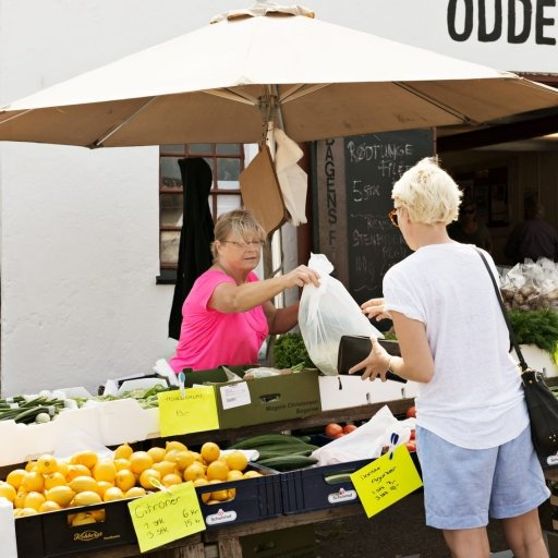 The Farmer Market in Odense