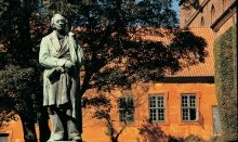 The famous fairytale writer Hans Christian Andersen was born in Odense