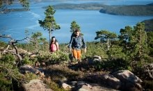 Hiking in the beautiful national parks in Sweden is a great experience