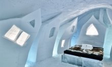 Jukkasjärvi Ice Hotel is an unique experience you find in Lapland