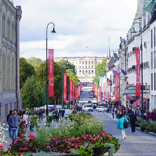 Karl Johan Shopping Street