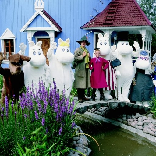 Visit the Moomin World