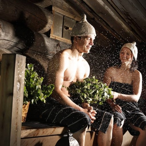 Traditional Sauna in Helsinki