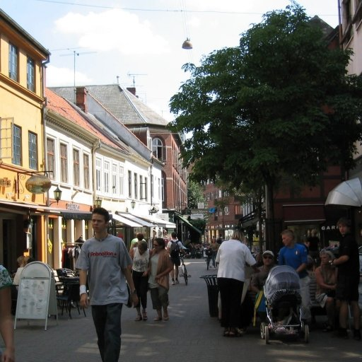 Main Shopping Street in Odense