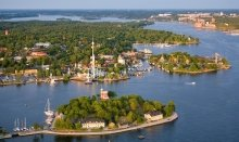 Sweden - known for the beautiful archipelagos