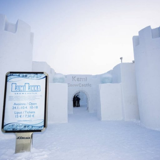The SnowCastle in Kemi