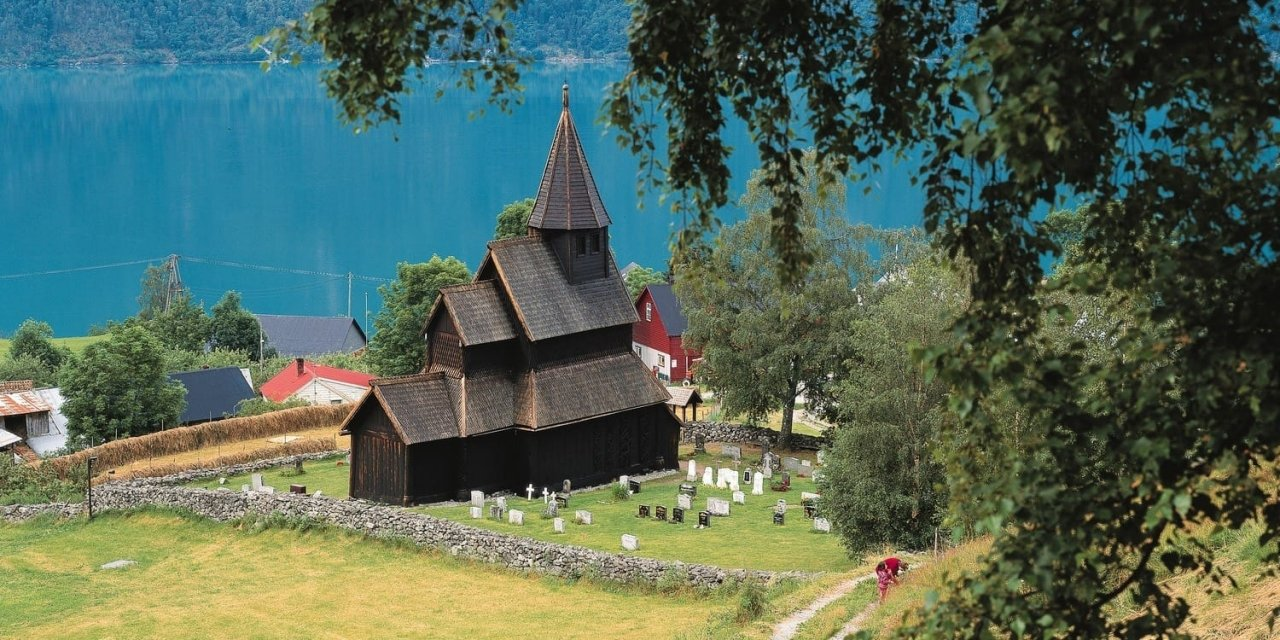 In Norway you can still find many sites from the Viking age more than 1000 years ago
