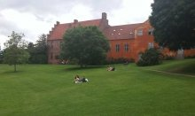 Odense has many enjoyable green areas